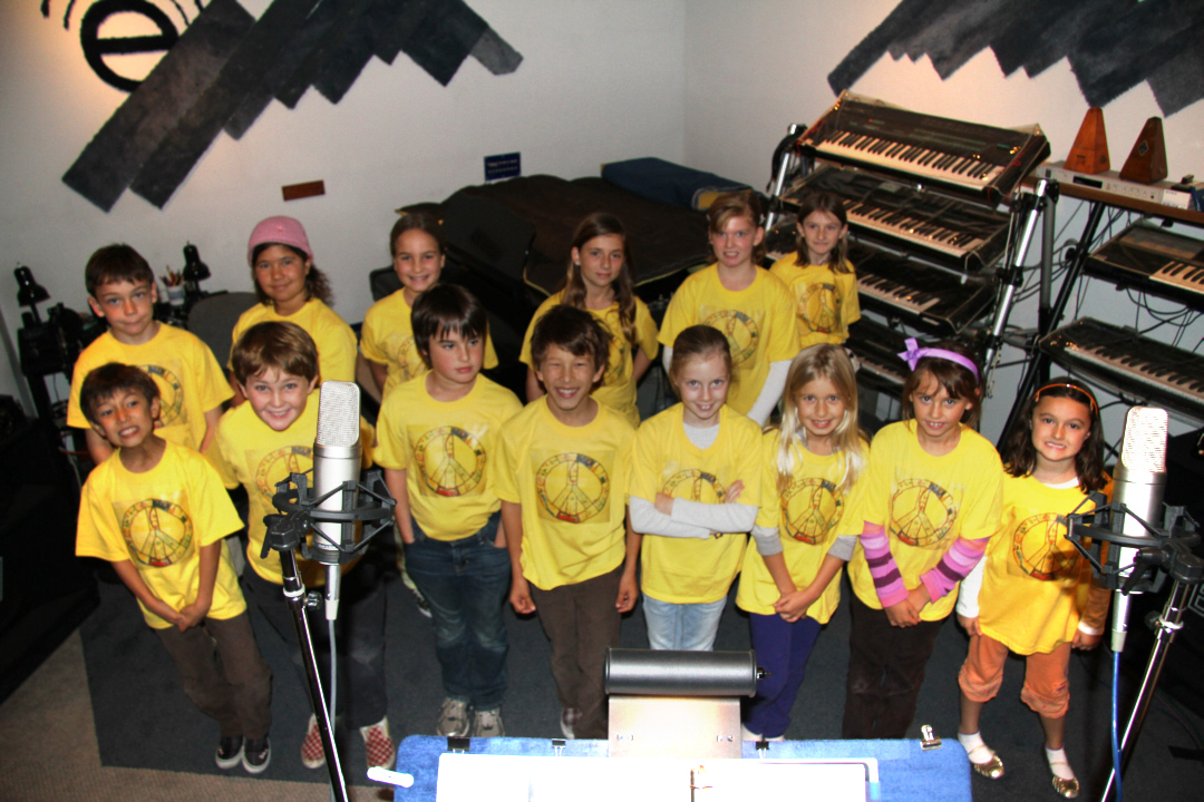 Joyful Noise Group in Studio 1080