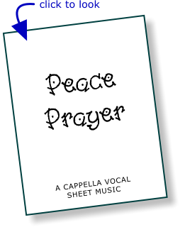 Peace Prayer - Chart