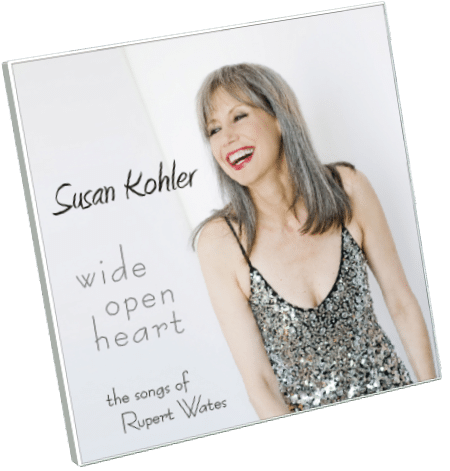 Susan Kohler Wide Open Heart CD Cover