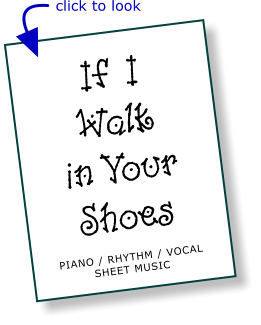 If I Walk in Your Shoes - Chart